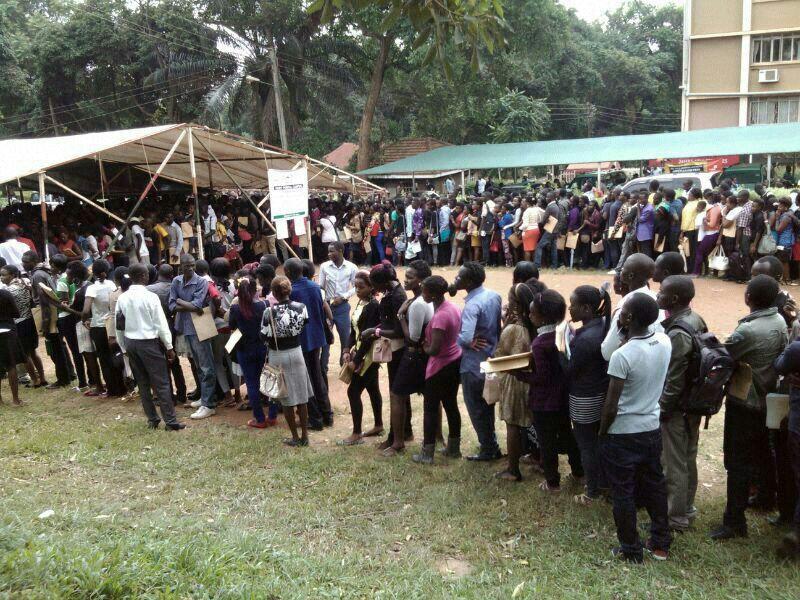 Applicants queue up at MUK