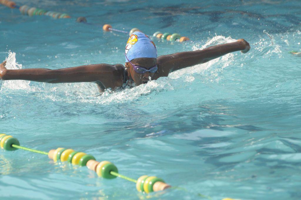 400m & 800m Freestyle Gold Medalist Agahozo Alphone From Kampala International University (KIU)