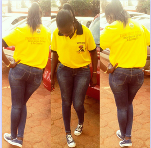 The stylish world's youngest MP during the NRM retreat early this year.