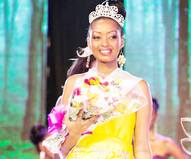 Anita K. Fabiola Miss Uganda 2013/2014 runner up