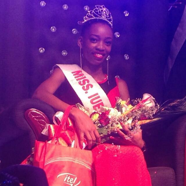 Ms IUEA, Ariane Ndalika, First Year Student