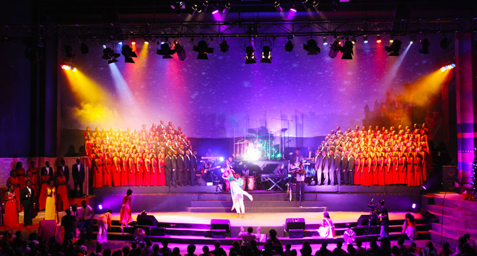 Christmas Cantata at Watoto Church attracts a bevy of university students every December