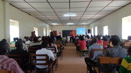 Students attend an AIESEC Digital Empowerment Session