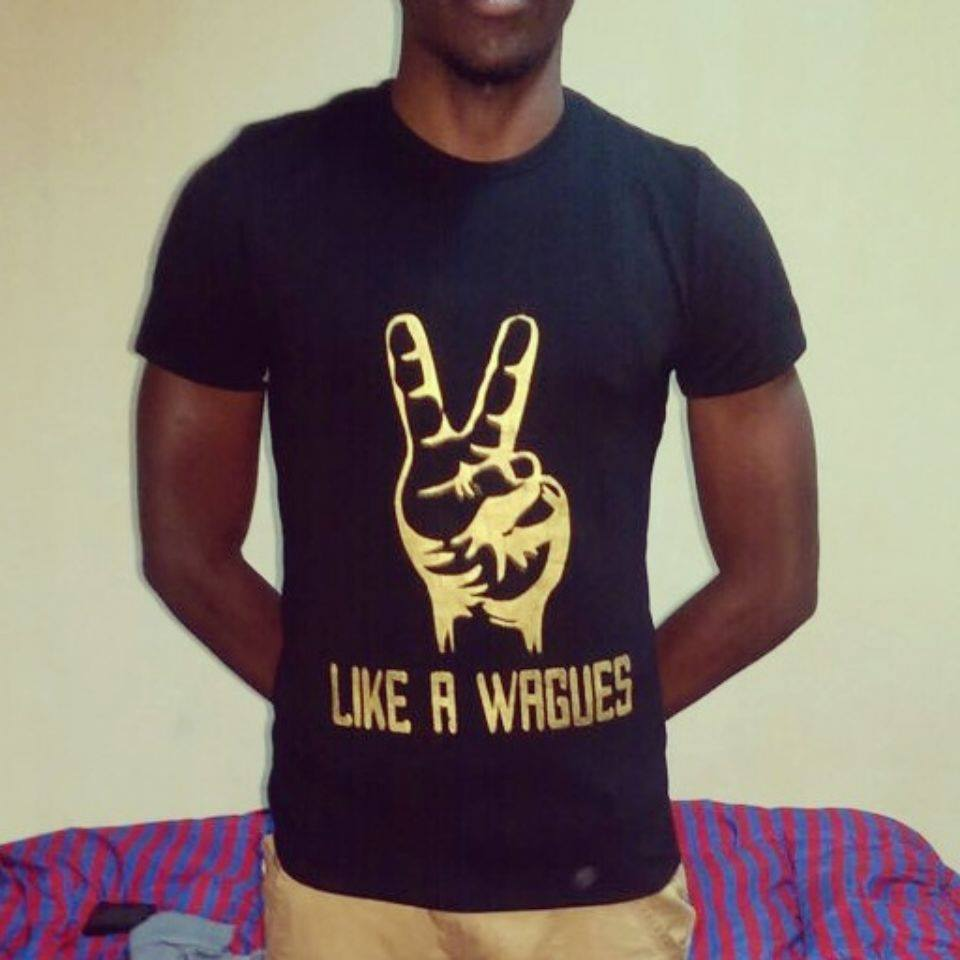 The cool customised tees by the IT student