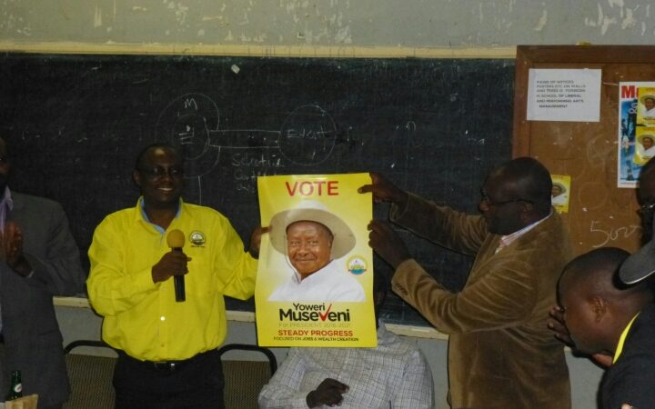 NRM launches 'votes task force' in Makerere university