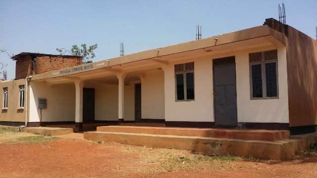 The unfinished Mandela hostel, Gulu University.