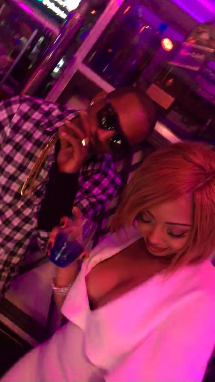 Meddie Ssentongo and Fabiola ballin' at Club Guvnor
