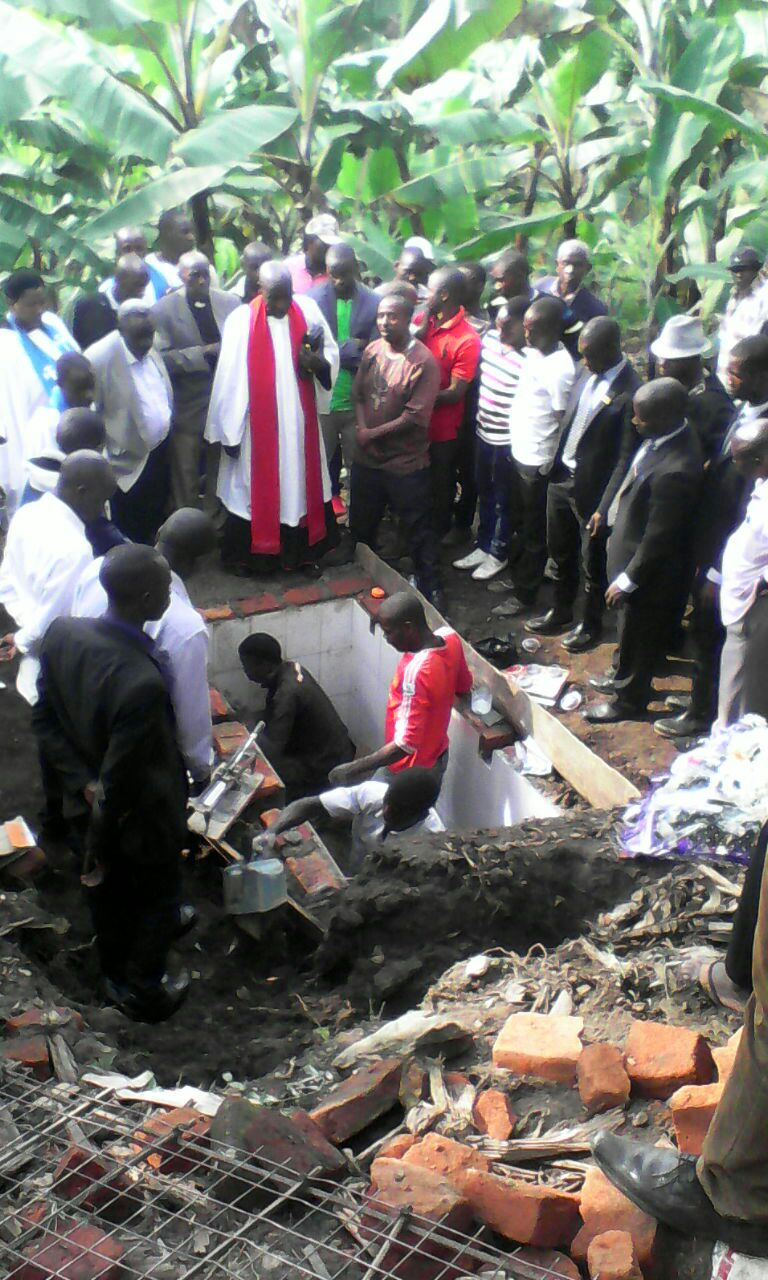 Charity being laid to rest