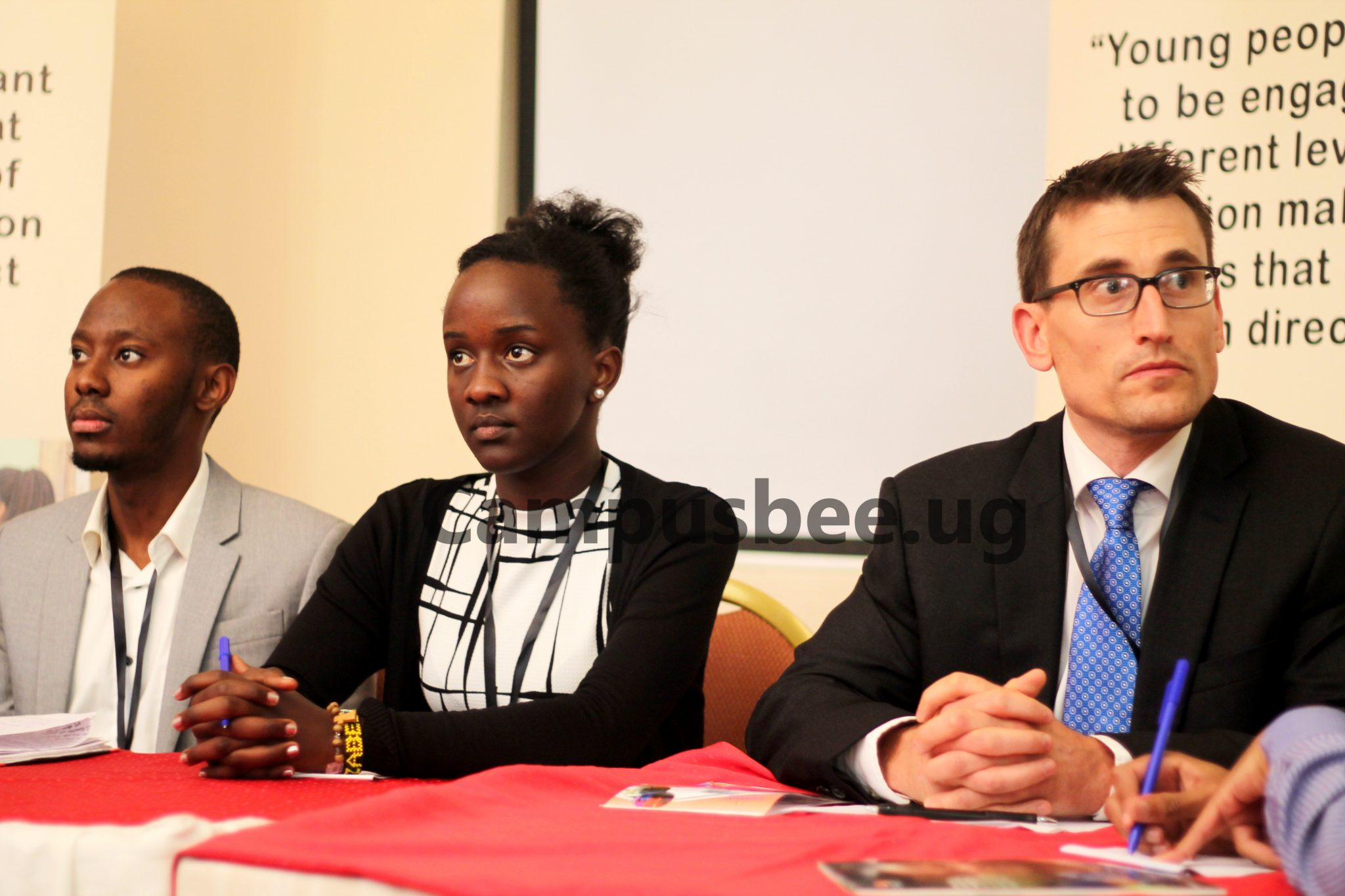 Some of the panelists