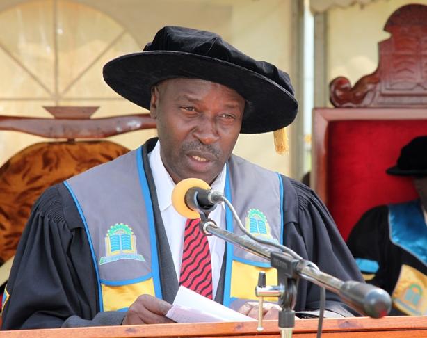Prof Eli Katunguka, Kyambogo VC