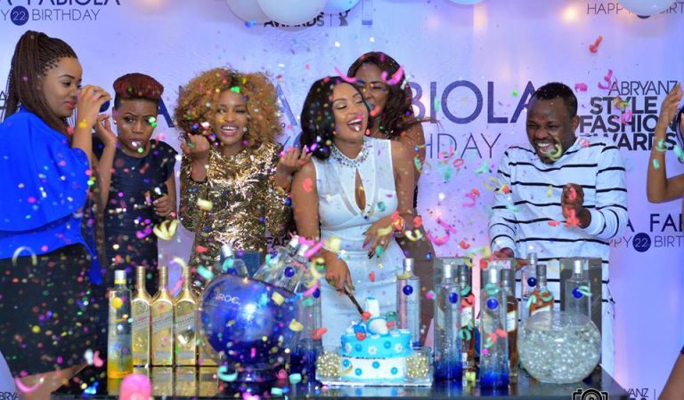 [Photos] Glamour as Abryanz throws Anita Fabiola surprise birthday party