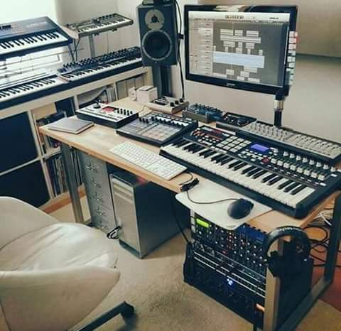 His Studio setup