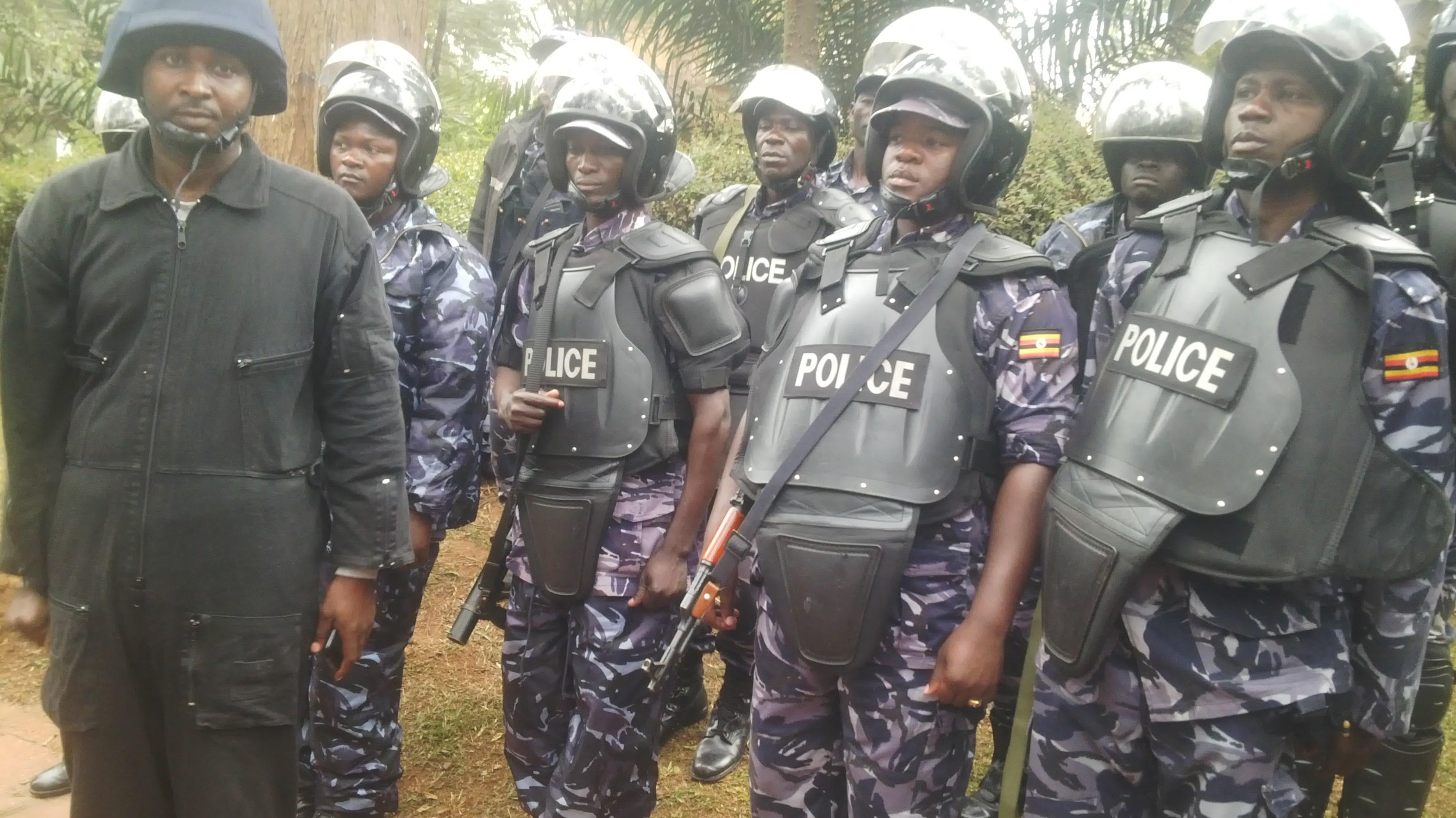 Police deployed at Makerere university