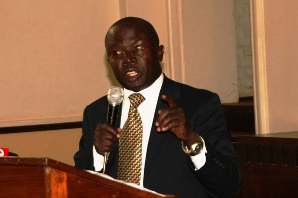 Makerere PRO Dr Muhammad Kiggundu.