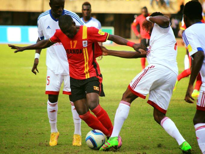Miya's first half goal earned Uganda three precious points in the World Cup Qualifiers match.