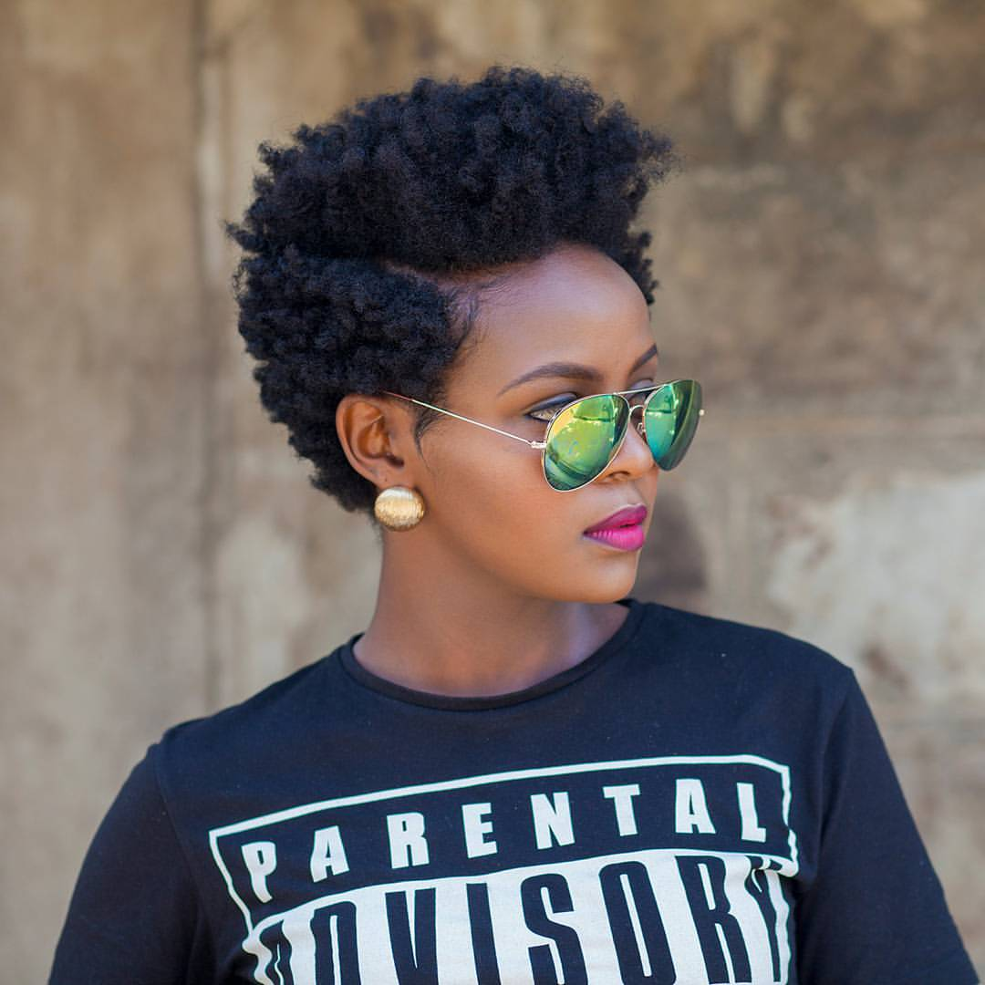 Short Afro Natural Hairstyles Best Short Hair Styles