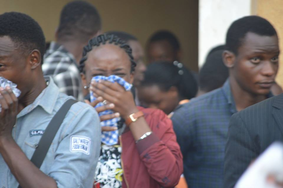 Any Makererean knows the feeling of teargas catching you unawares