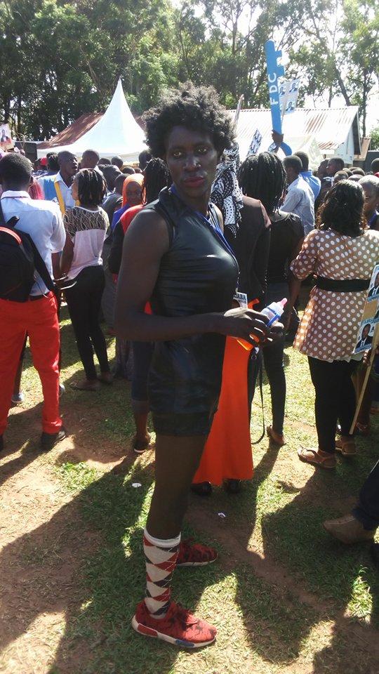 Photos These Kyambogo Students Showed Up At Campus Half Naked - Campus Bee-1012