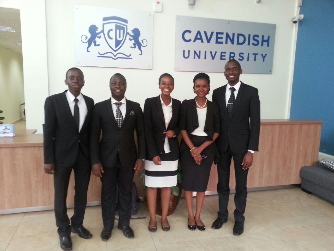 UCU TEAM: Pius Kitamirike, Kalondo Paul, Banya Trisha, Twongyeirwe Isabel and Okia Joseph