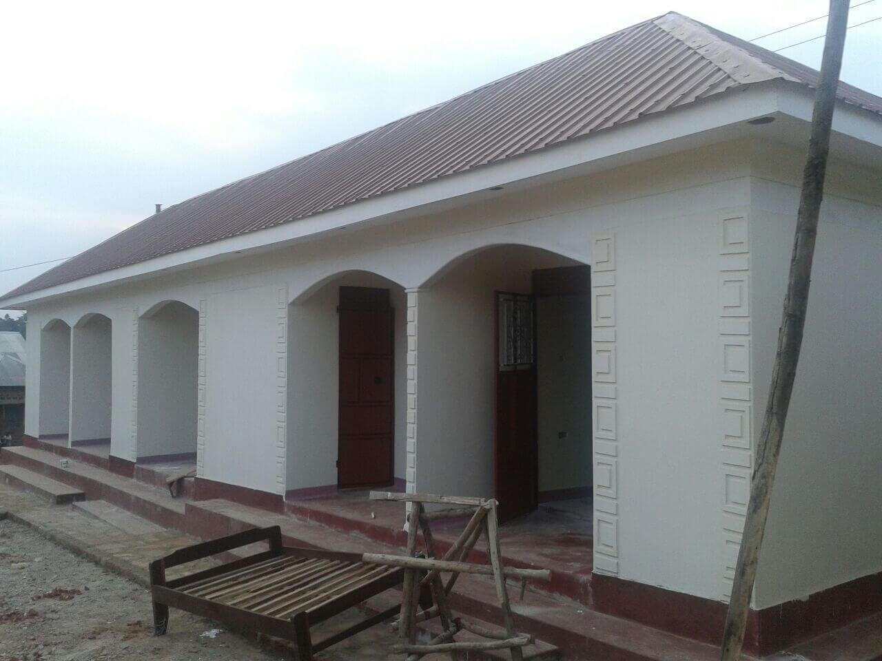 New Rooms underconstruction at Ndagire Hostel