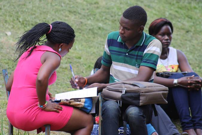 Students at Makerere (FILE PHOTO)