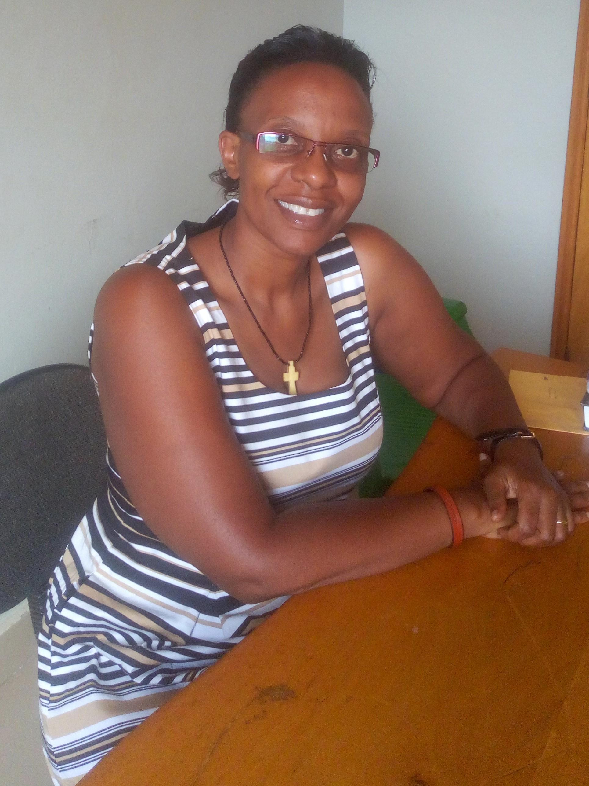 Annette Kirabira, the E.D of Rahab Uganda.