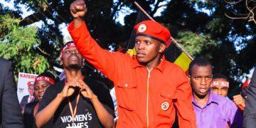 Makerere University guild president elect 2019.