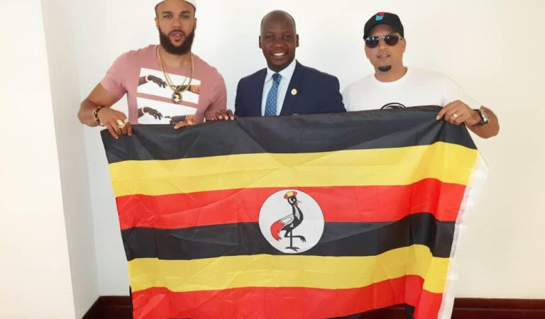 Jidenna Visits Murchison Falls, Says Uganda is One of the Best Tourist Destinations