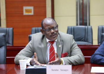 Makerere University Vice Chancellor, Prof Barnabas Nawangwe