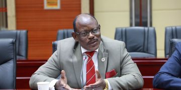 Makerere University Vice Chancellor, Prof Barnabas Nawangwe