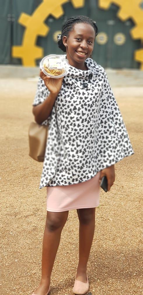 Mercy Kibuuka,21 MUBS student
