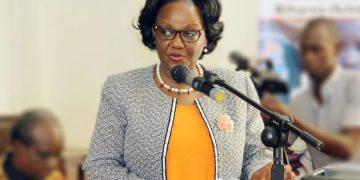Prof. Rhoda Wanyenze, the Makerere University Dean of Public Health