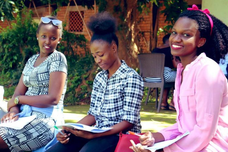 Students at Makerere University - Credit MAK Facebook