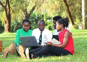 Kyambogo Students at Campus