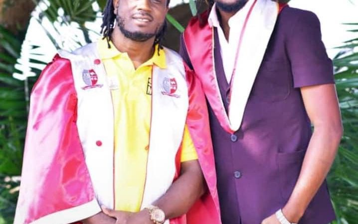 PICTURES: Bebe Cool's First Born, Allan Hendrick Graduates From IUEA